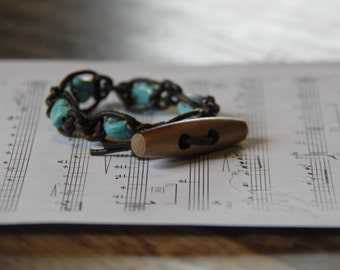 With a touch of Turquoise bracelet
