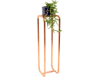 Large Deco Plant Stand Copper