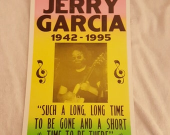 Jerry Garcia 22x14 poster