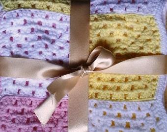 Baby blanket - Handmade Snuggly Crochet Blanket