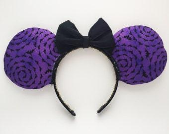 Batty Halloween Ears