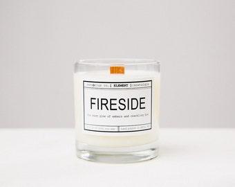 sensōrius co. FIRESIDE soy candle