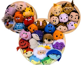 Disney Tsum Tsum display, Tusm Tusm holder, Tusm Tusm Letter display, Tusm Tusm Mickey holder