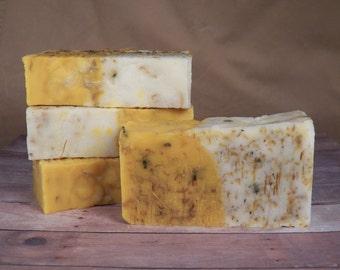 All Natural, Citrus Splash, Cold Process Soap