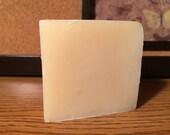 Sudsy Shampoo Bar - Handmade with Jojoba Oil, Sweet Almond Oil, Hemp Seed Oil, Essential Oils - Full Bar/Half Bar