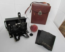 Zeiss ikon ideal 651 stereo camera set