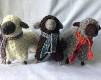 Flock of Three Ewes (Medium)