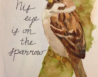 Eye on the Sparrow print