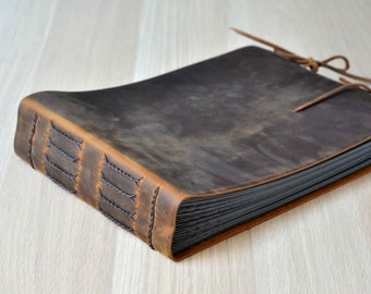 Photo Album Photo Frame rustic leather album guetbook