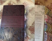 Womens Devotional Bible with Bible tabs-Leather