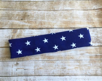 READY TO SHIP 4th of July Headband/Baby Headband/4th of July Baby Headband/Fourth of July Headband/Patriotic Headband/Fabric Headwrap