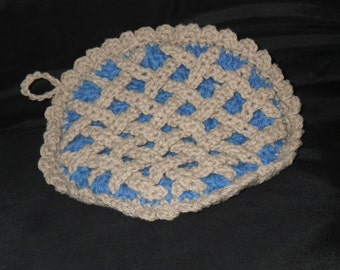 Blueberry pie hot pad