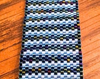 Ocean Shades Peyote Stitch Bracelet
