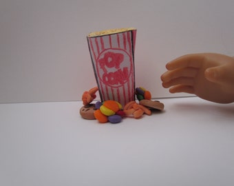 Movie Snacks for Two American Girl Dolls