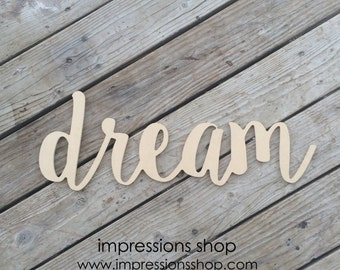 dream wood cutout