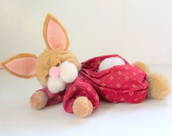 E Pattern Sleepy Baby Bunny Easter Printable Download PDF Instant Sewing Craft Pattern