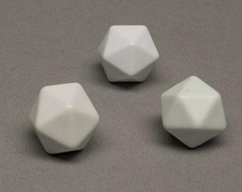 20-sided blank dice