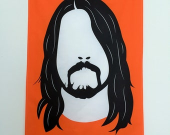 Dave Grohl Tea Towel - Foo Fighters