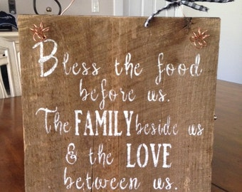 Rustic Barnwood Sign