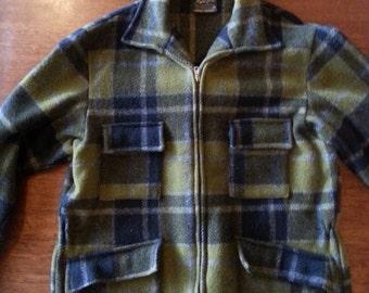Vintage Snowline Norwellan pure wool jacket