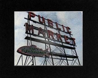 Photo Original of Seattle Public Market