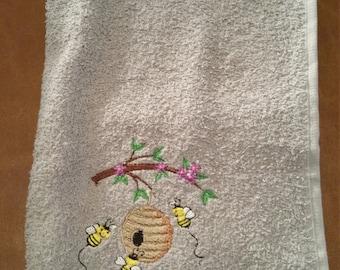 Bees Storing Honey