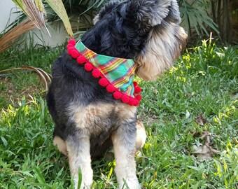 Dog Tassel Bandana