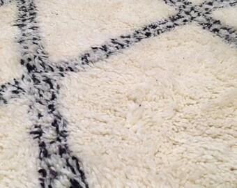 Moroccan berber rug - Beni Ourain