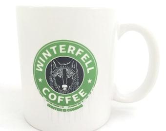 Game of Thrones House Stark 11 Ounce Coffee Mug