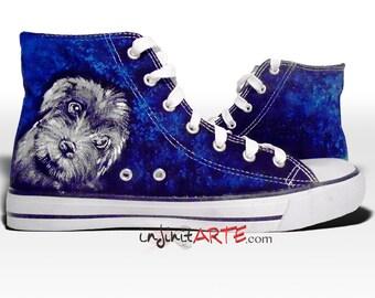 My Pet Handpainted Shoes