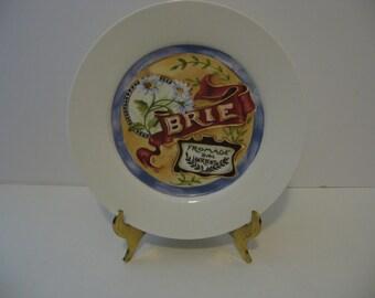 Set of 4 Restoration Hardware Classic Cheese Plates