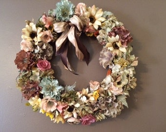 Autumn Colors Wreath