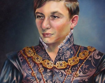 Portrait in a historical costume