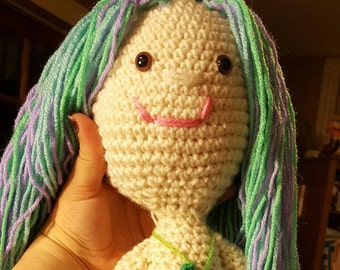 Miss Lily the mermaid doll