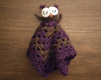 Sleepy Owl Lovey