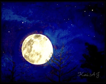 Moonlight in Acrylic