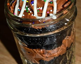 Cupcakes In A Jar Classic Flavors