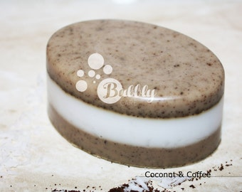Coconut & Coffee Handmade Soap