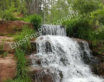 """8x10 in photo print """"Tonto Waterfall"""""""
