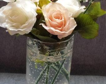 Gel Wax Flower Vase