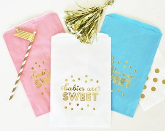 Babies Are Sweet Candy Buffet Bag - Set of 12