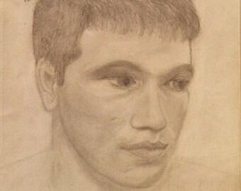 """18"""" by 12"""" Custom Portrait Drawing"""