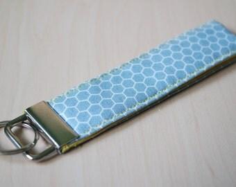 Lanyard style keyfob - Honeycomb [Grey / Yellow]