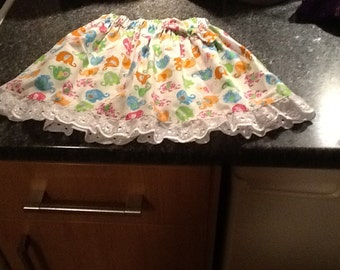 Elephants toddler skirt approx age 2 yrs