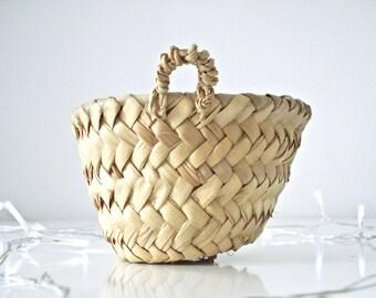 Mini super basket - hand made