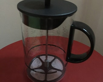 BODUM Bistro French Press Coffee Maker 8-Cup Black - Made in Germany