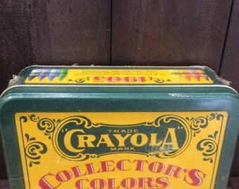 Crayola Collector's Colors Limited Edition Crayola Vintage Tin - 1991