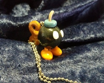 Bob-omb Charm Necklace