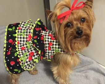 Layered Ruffle Dog Dress