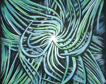 Abstract 02 * 50 x 50 cm * acrylic on canvas